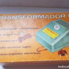 Giocattoli antichi e Giochi di collezione: TRANSFORMADOR RECTIFICADOR IR DE RIMA SIN USO EN BLISTER. Lote 215580781