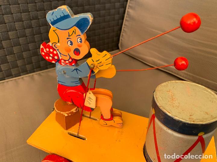 Juguetes antiguos y Juegos de colección: JUGUETE DE ARRASTRE MADERA DE DENIA AÑOS 40-50 - Foto 6 - 215910820