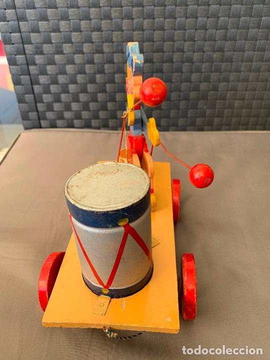 Juguetes antiguos y Juegos de colección: JUGUETE DE ARRASTRE MADERA DE DENIA AÑOS 40-50 - Foto 7 - 215910820