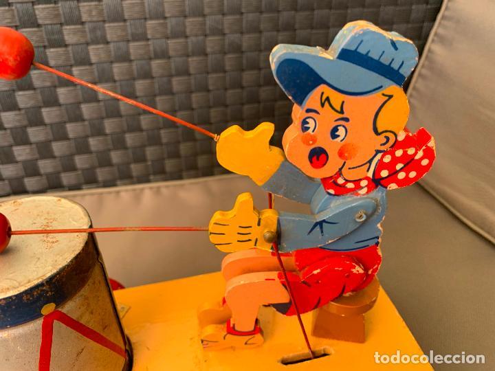Juguetes antiguos y Juegos de colección: JUGUETE DE ARRASTRE MADERA DE DENIA AÑOS 40-50 - Foto 8 - 215910820