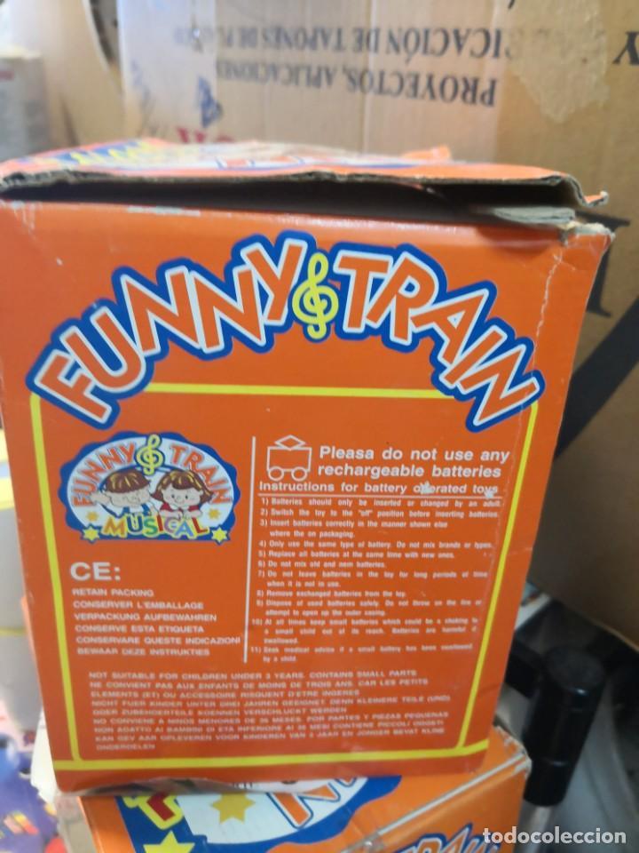 Juguetes antiguos y Juegos de colección: Juguete Tren musical. Funny Train musical en su caja - Foto 5 - 215936161
