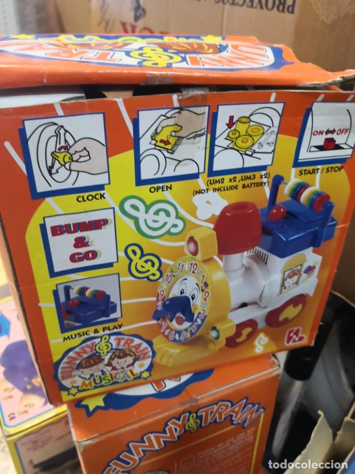 Juguetes antiguos y Juegos de colección: Juguete Tren musical. Funny Train musical en su caja - Foto 6 - 215936161