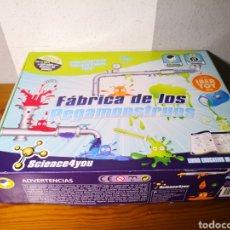 Juguetes antiguos y Juegos de colección: JUEGO SCIENCE4YOU - FABRICA DE PEGAMONSTRUOS. Lote 217959855