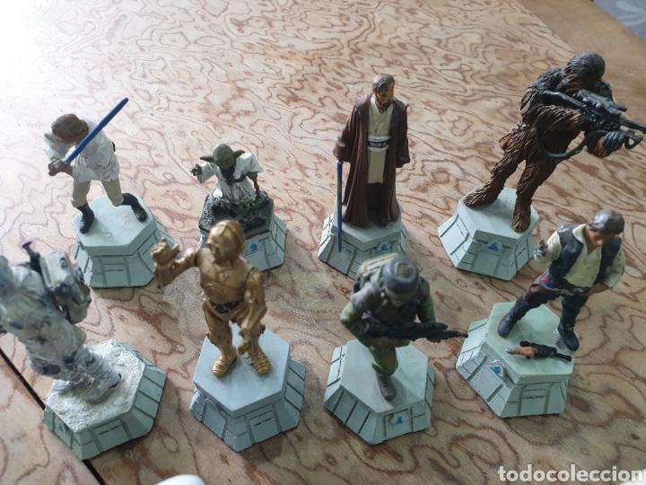 Juguetes antiguos y Juegos de colección: Lote star wars 27 figuras ajedrez plomo la guerra de las galaxias - Foto 4 - 218096913