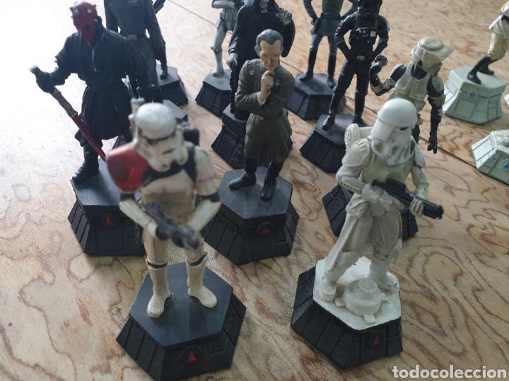 Juguetes antiguos y Juegos de colección: Lote star wars 27 figuras ajedrez plomo la guerra de las galaxias - Foto 5 - 218096913