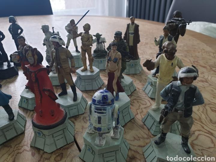 Juguetes antiguos y Juegos de colección: Lote star wars 27 figuras ajedrez plomo la guerra de las galaxias - Foto 7 - 218096913