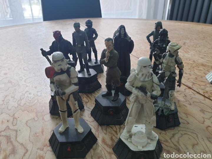 Juguetes antiguos y Juegos de colección: Lote star wars 27 figuras ajedrez plomo la guerra de las galaxias - Foto 8 - 218096913