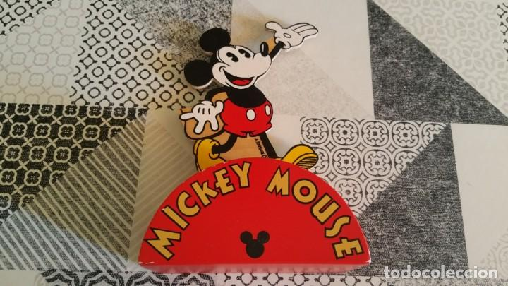 HUCHA MICKEY MOUSE EN MADERA MADE IN FRANCE FMF RARA (Juguetes - Varios)
