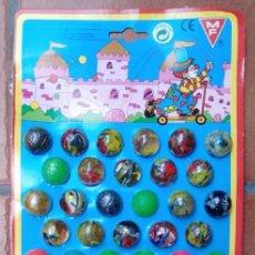 Juguetes antiguos y Juegos de colección: BLISTER EXPOSITOR PELOTAS SALTARINAS MF KIOSKO KIOSKOS DE ESPAÑA AÑOS 70 80 IMPORTACION. Lote 270160733