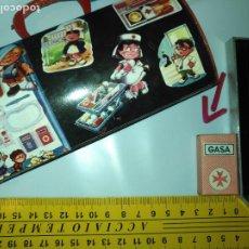 Juguetes antiguos y Juegos de colección: PEQUEÑA CAJA DE GASA PARA BOTIQUIN DE MUÑECAS NANCY LESLE BARBIE ETC ,VER MEDIDA EN FOTO. Lote 218243852