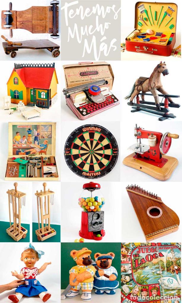 Juguetes antiguos y Juegos de colección: ANTIGUO BOLSITO CABAS ART-DECÓ DE HOJALATA. PRINCIPIOS S. XX - Foto 6 - 150960798