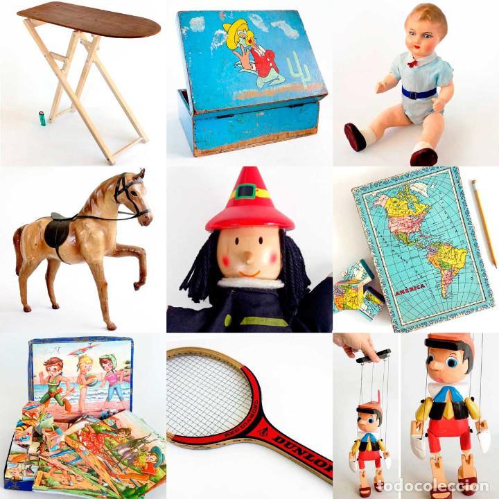 Juguetes antiguos y Juegos de colección: ANTIGUO BOLSITO CABAS ART-DECÓ DE HOJALATA. PRINCIPIOS S. XX - Foto 7 - 150960798