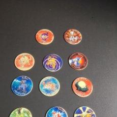 Juguetes antiguos y Juegos de colección: LOTE 34 TAZOS POKEMON + 2 GIGANTAZOS. Lote 219254301