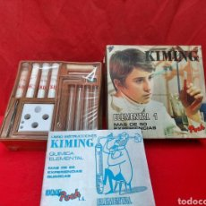 Juguetes antiguos y Juegos de colección: ANTIGUO JUEGO DE QUÍMICA KIMING 1973. Lote 219256800