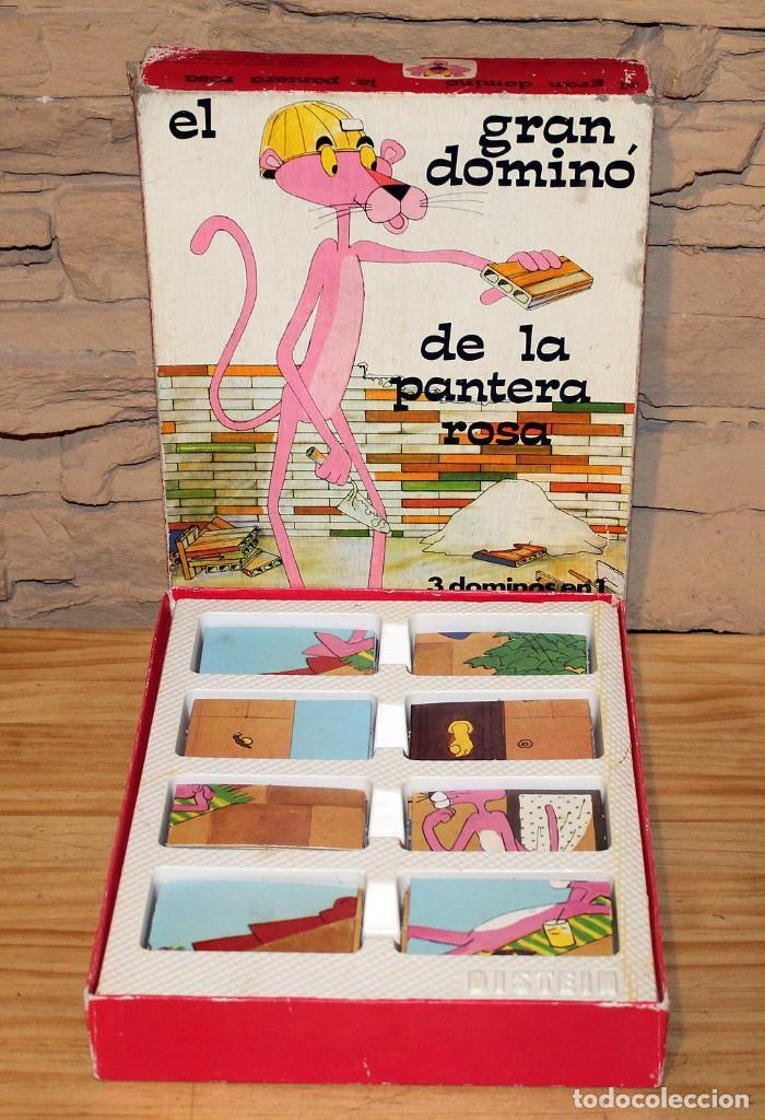 Juguetes antiguos y Juegos de colección: EL GRAN DOMINO DE LA PANTERA ROSA - DISTEIN - AÑO 1973 - Foto 4 - 219416886