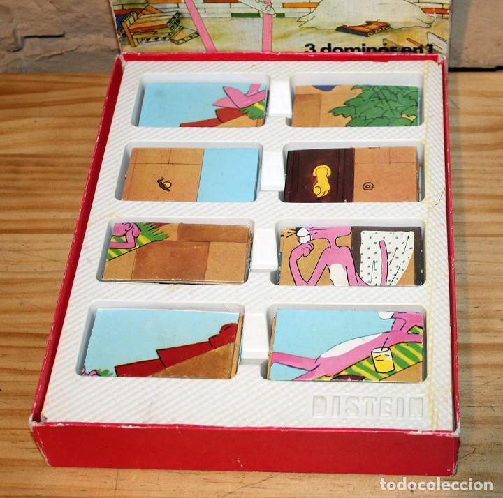 Juguetes antiguos y Juegos de colección: EL GRAN DOMINO DE LA PANTERA ROSA - DISTEIN - AÑO 1973 - Foto 5 - 219416886