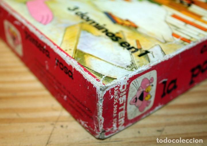 Juguetes antiguos y Juegos de colección: EL GRAN DOMINO DE LA PANTERA ROSA - DISTEIN - AÑO 1973 - Foto 10 - 219416886