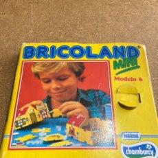 Juguetes antiguos y Juegos de colección: BRICOLAND MINI MODELO 6, DE YOGURES CHAMBURCY (EDUCA). Lote 220060275