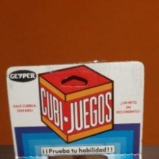 Brinquedos antigos e Jogos de coleção: ANTIGUO JUEGO GEYPER CUBI JUEGOS EN SU CAJA ORIGINAL. Lote 220987575