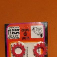 Brinquedos antigos e Jogos de coleção: BLISTER DE PETARDOS PARA PISTOLAS REVOLVERS. Lote 221342505