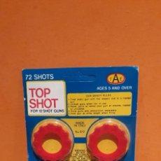 Brinquedos antigos e Jogos de coleção: BLISTER SIN ABRIR TOP SHOT PETARDOS PARA REVOLVERS. Lote 221342677