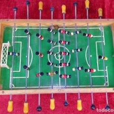Juguetes antiguos y Juegos de colección: FUTBOLÍN ANTIGUO DE JUGUETE. MADERA. METAL. ESPAÑA. CIRCA 1930. Lote 222351643