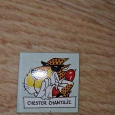 Jouets Anciens et Jeux de collection: CROMO PEGATINA CHESTER MATUTANO CHANTAJE PREMIUM COLECCIÓN AÑOS 80 90. Lote 222403785