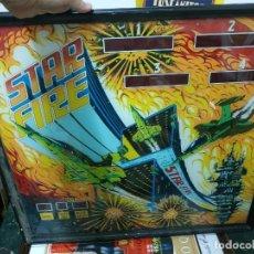 Juguetes antiguos y Juegos de colección: PINBALL PIN BALL STAR FIRE FRONTAL SOLO. Lote 222666892