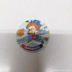 Giocattoli antichi e Giochi di collezione: TAZO AÑO 1994 DIBUJOS DE WARNER BROS MATUTANO N° 12 ELMYRA TAPONAZO BALONCESTO. Lote 223762691