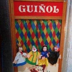 Juguetes antiguos y Juegos de colección: TEATRO DE GUIÑOL. Lote 224098031