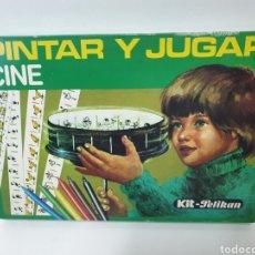 Juguetes antiguos y Juegos de colección: PINTAR Y JUGAR. CINE. KIT PELIKAN. REF. 98/56. ZOOTROPO DE JUGUETE. AÑOS 70.. Lote 226601065