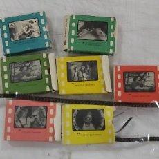 Juguetes antiguos y Juegos de colección: LOTE DE PELICULAS EN CAJA CINE EXIN O PARECIDO. Lote 226803490