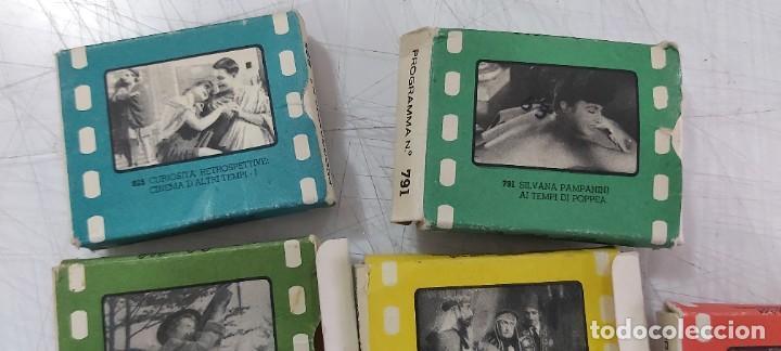 Juguetes antiguos y Juegos de colección: LOTE DE PELICULAS EN CAJA CINE EXIN O PARECIDO - Foto 2 - 226803490