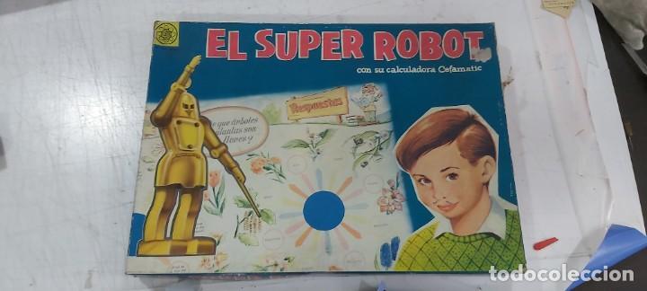 ANTIGUO JUEGO EL SUPER ROBOT DE CEFA (Juguetes - Varios)