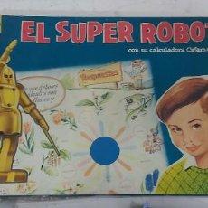 Juguetes antiguos y Juegos de colección: ANTIGUO JUEGO EL SUPER ROBOT DE CEFA. Lote 226804505