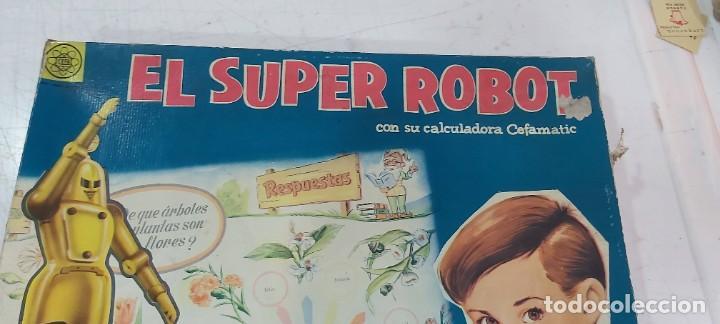 Juguetes antiguos y Juegos de colección: ANTIGUO JUEGO EL SUPER ROBOT DE CEFA - Foto 2 - 226804505