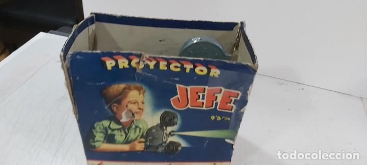 Juguetes antiguos y Juegos de colección: ANTIGUO PROYECTOR JEFE PATENTADO - Foto 3 - 226805695
