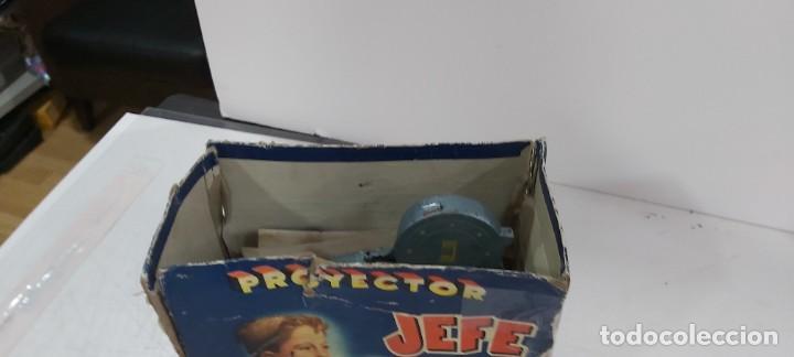 Juguetes antiguos y Juegos de colección: ANTIGUO PROYECTOR JEFE PATENTADO - Foto 5 - 226805695