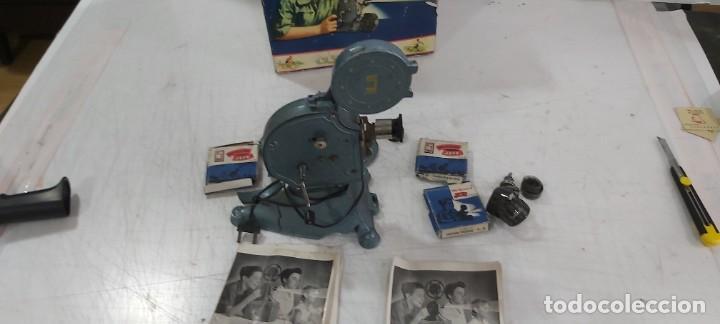 Juguetes antiguos y Juegos de colección: ANTIGUO PROYECTOR JEFE PATENTADO - Foto 7 - 226805695