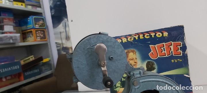 Juguetes antiguos y Juegos de colección: ANTIGUO PROYECTOR JEFE PATENTADO - Foto 15 - 226805695