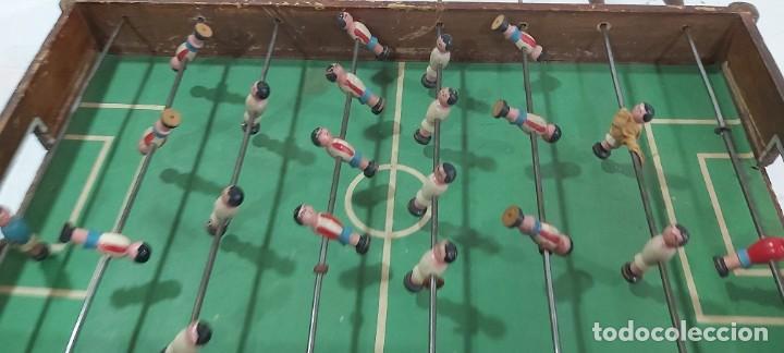 Juguetes antiguos y Juegos de colección: ANTIGUO FUTBOLIN AÑOS 50 - Foto 2 - 226805920