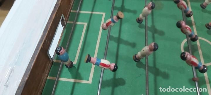 Juguetes antiguos y Juegos de colección: ANTIGUO FUTBOLIN AÑOS 50 - Foto 3 - 226805920