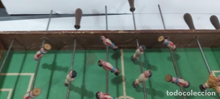 Juguetes antiguos y Juegos de colección: ANTIGUO FUTBOLIN AÑOS 50 - Foto 4 - 226805920