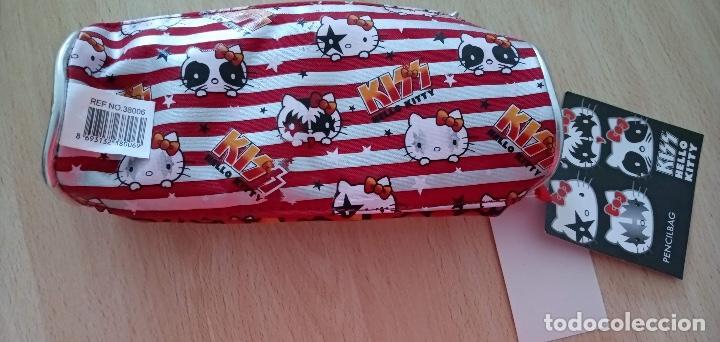 Juguetes antiguos y Juegos de colección: Estuche Kiss Hello Kitty Nuevo con etiquetas Original Sanrio 2012 - Foto 3 - 226819190