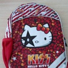 Juguetes antiguos y Juegos de colección: MOCHILA PEQUEÑA KISS HELLO KITTY ORIGINAL SANRIO 2012 NUEVA CON ETIQUETAS. Lote 226819805