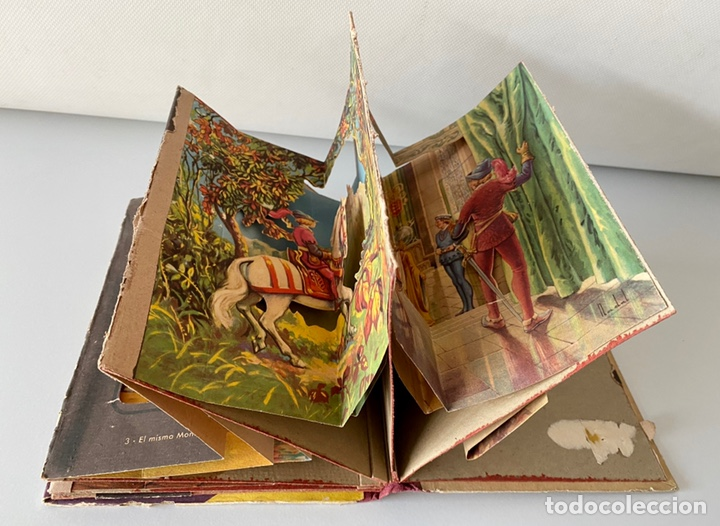Juguetes antiguos y Juegos de colección: Antigo cuento años 40, Flor de Lis Bella Durmiente Editorial Roma. - Foto 6 - 228005460