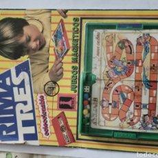 Juguetes antiguos y Juegos de colección: JUEGO MAGNÉTICO RIMA TRES COLECCIONABLE. Lote 228249625
