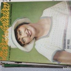Juguetes antiguos y Juegos de colección: REVISTA MODA Y BORDADOS 1972. Lote 228763850