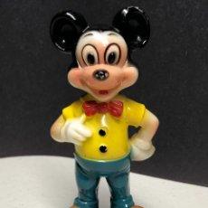 Juguetes antiguos y Juegos de colección: VINTAGE MICKEY MOUSE DE PLASTICO DURO. WALT DISNEY PRODUCTIONS.HONG KONG. ANOS 50S.. Lote 229783670