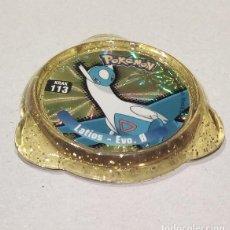 Juguetes antiguos y Juegos de colección: TAZO POKÉMON PANINI - KRAK 113 - LATIOS - EVO 0. Lote 229889575